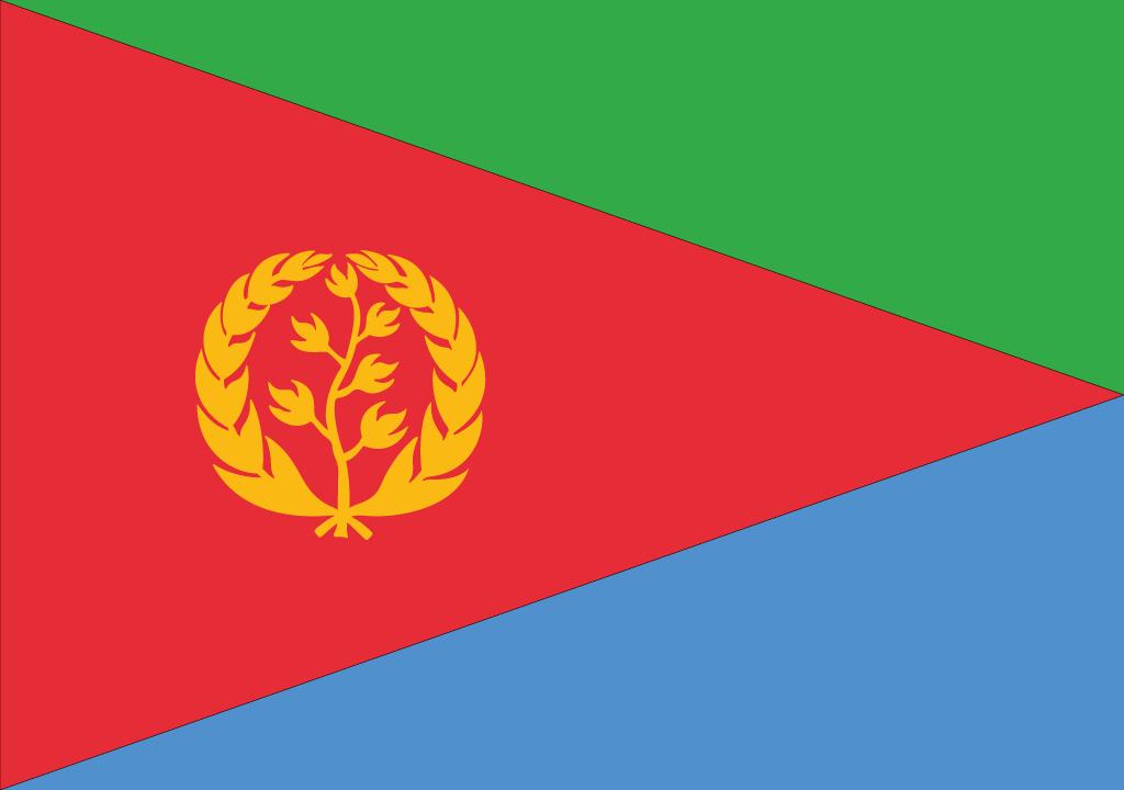 BANDEIRA DA ERITREIA