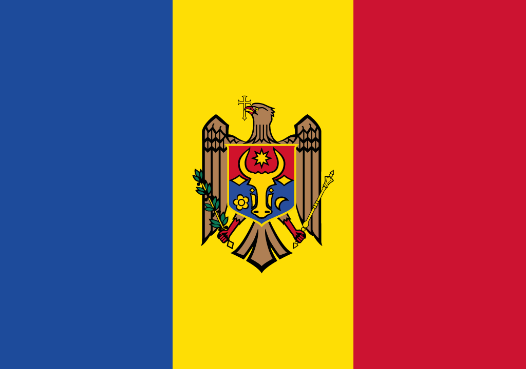 BANDEIRA DA MOLDAVIA