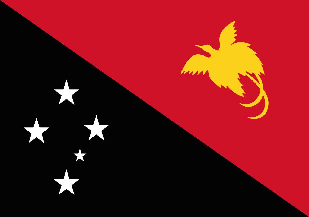 BANDEIRA DA PAPUA NOVA GUINE