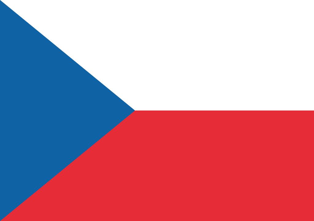 BANDEIRA DA REPUBLICA CHECA