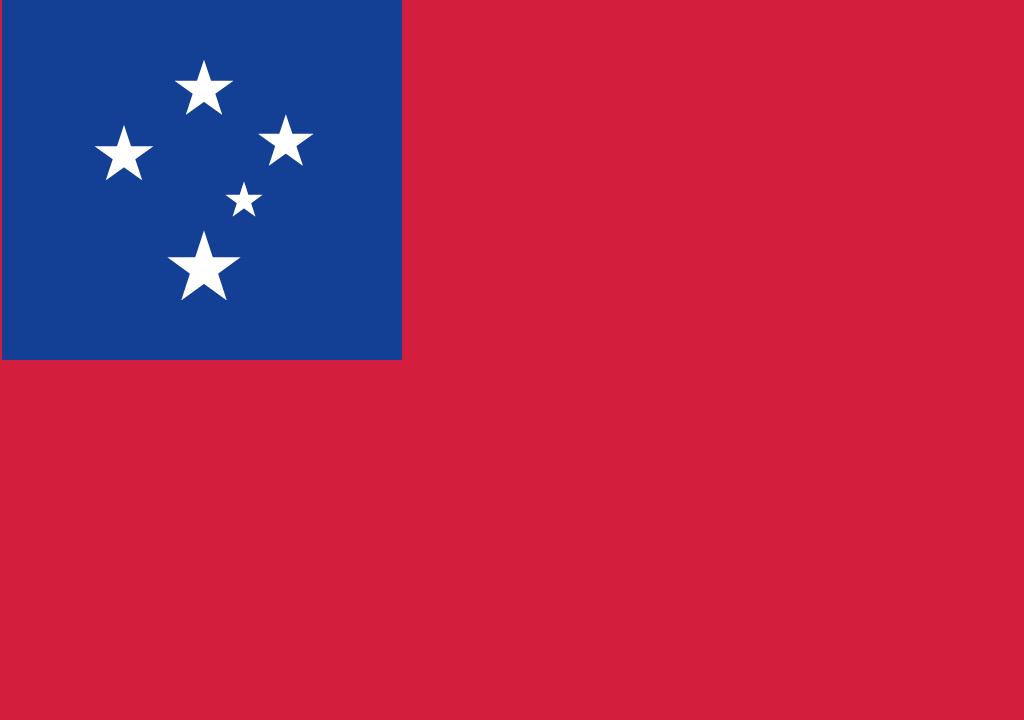 BANDEIRA SAMOA