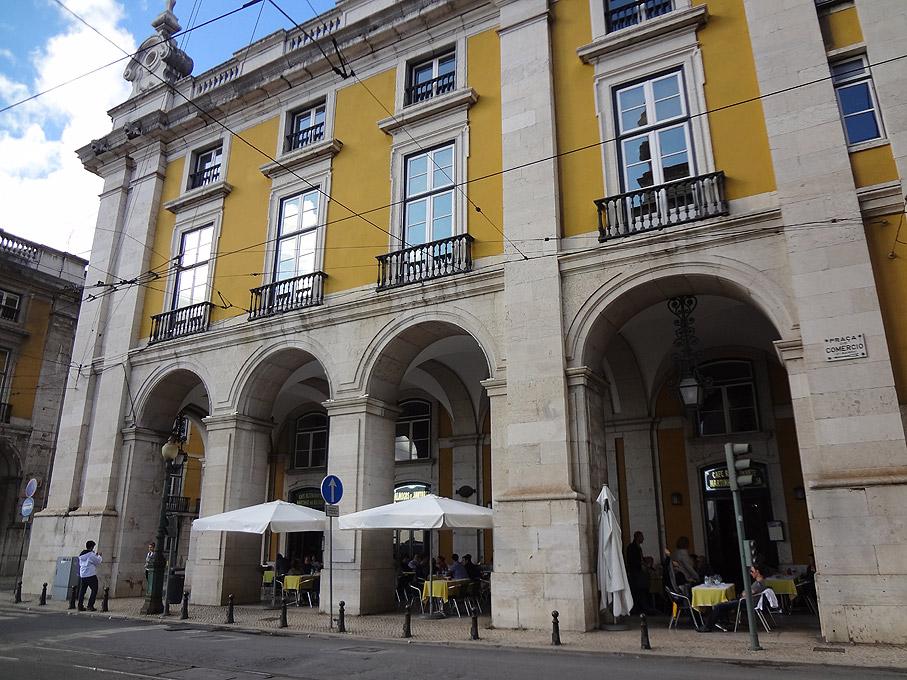 Fotografia Café Martinho da Arcada, Praça do Comércio Lisboa