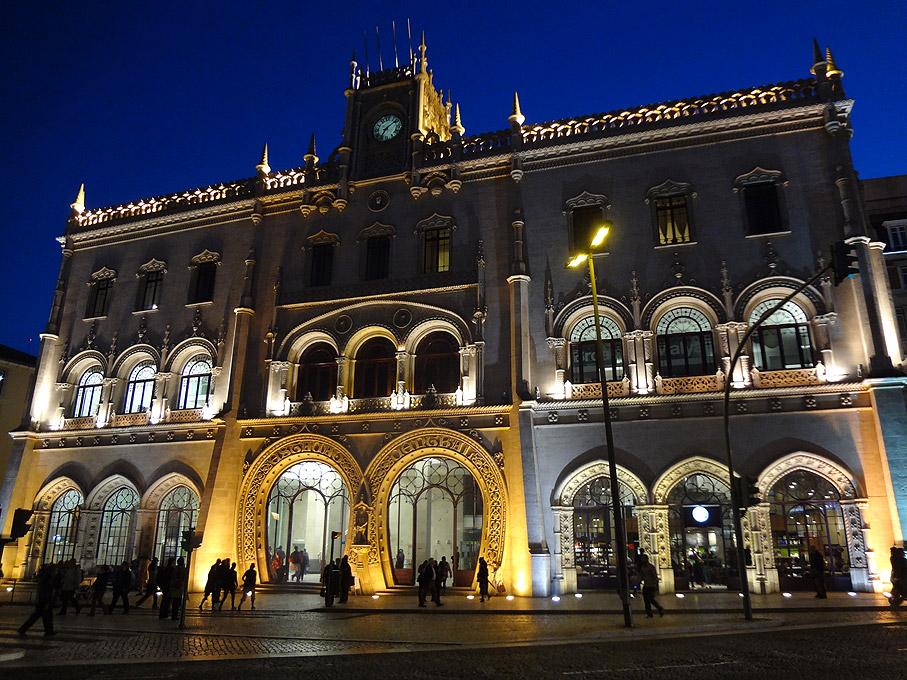 Fotografia Estação de comboios do Rossio, Lisboa