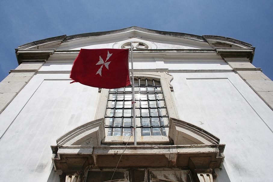 Fotografia Igreja de Santa Luzia e São Brás da Ordem de Malta, Alfama Lisboa