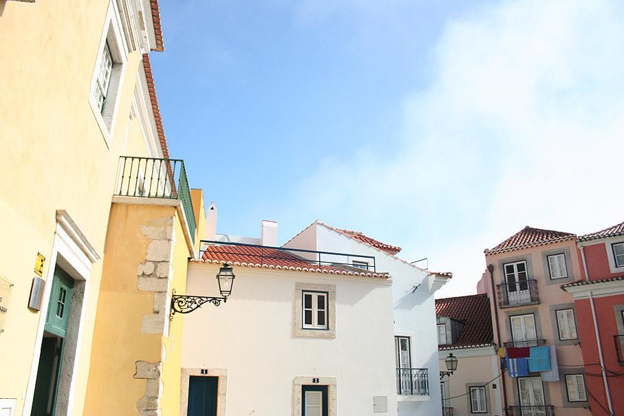 Fotografia Largo do Castelo, Alfama Lisboa