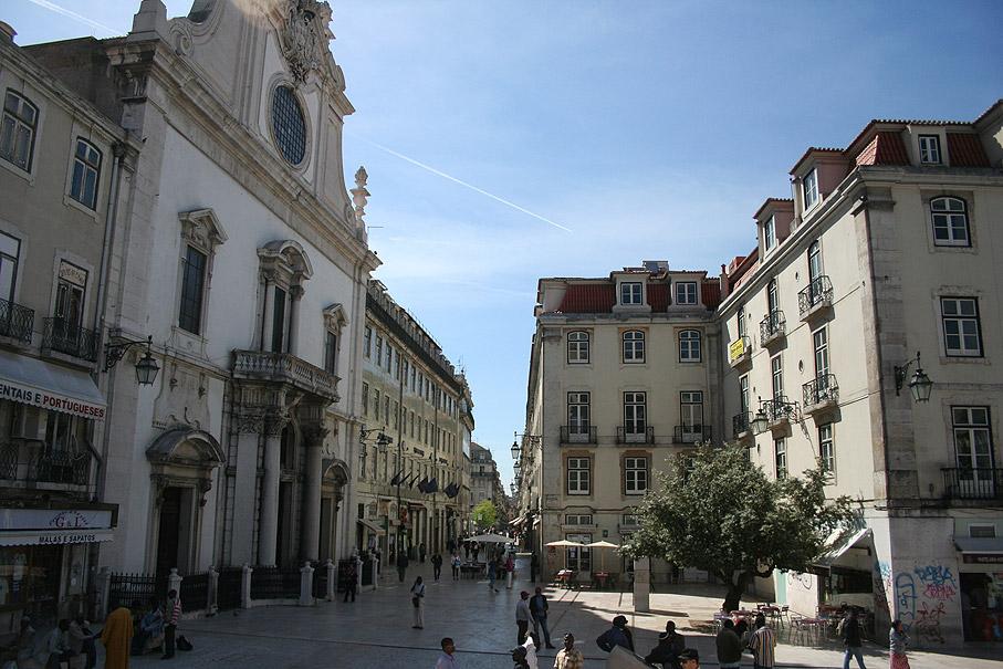 Fotografia Largo de São Domingos, Rossio Lisboa