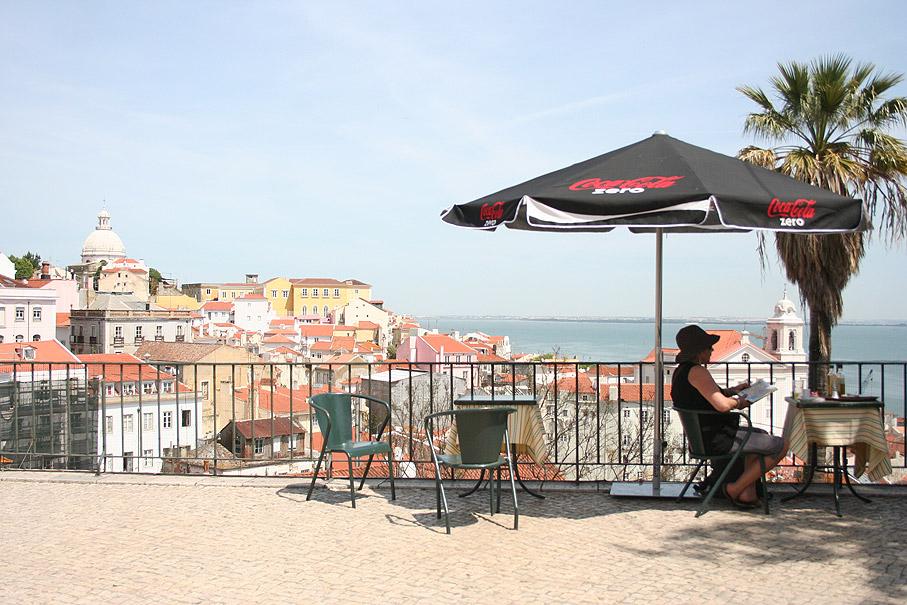 Fotografia Miradouro das Portas do Sol, Alfama Lisboa