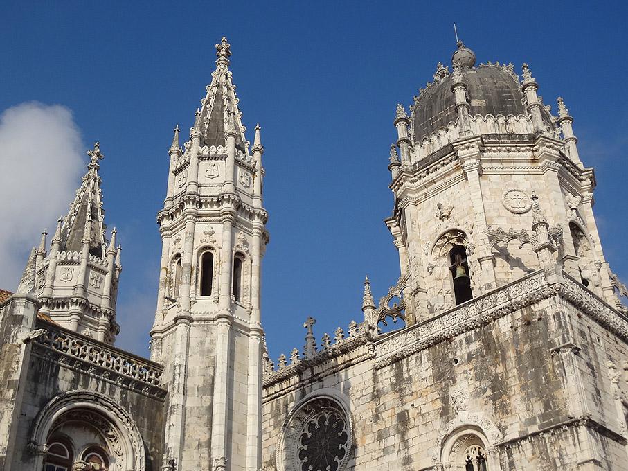 Fotografia Pormenor do Mosteiro dos Jerónimos, Belém Lisboa