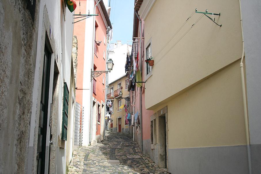 Fotografia Rua Santa Cruz do Castelo, Lisboa