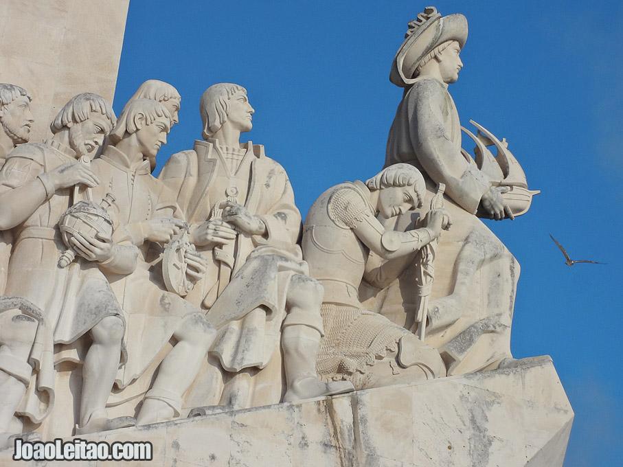 Fotografia Detalhe do Padrão dos Descobrimentos, Lisboa