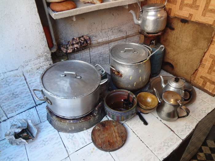 Photo of bissara traditional soup in Marrakech Morocco