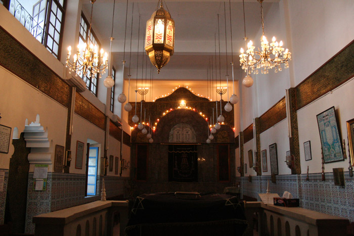 Photo of Jewish Lazama Synagogue in Marrakech