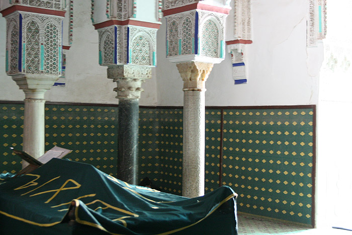 Photo of Zaouia of Saint Sidi Youssef Ben Ali Tomb in Marrakech
