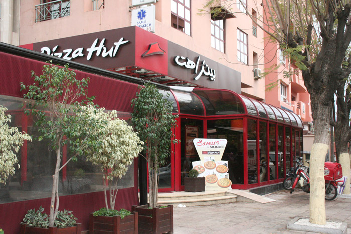 Pizza Hut in Marrakech