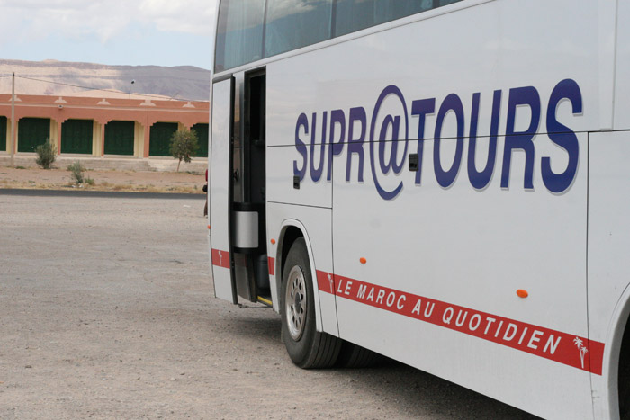 Photo of Supratours Bus in Morocco