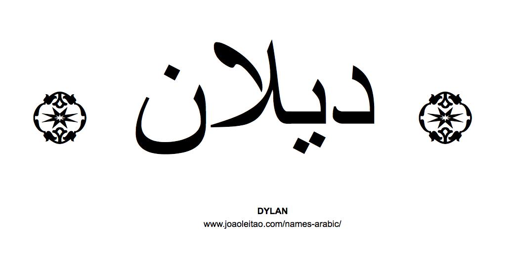Dona In Arabic Name Script How To Write Tattoo