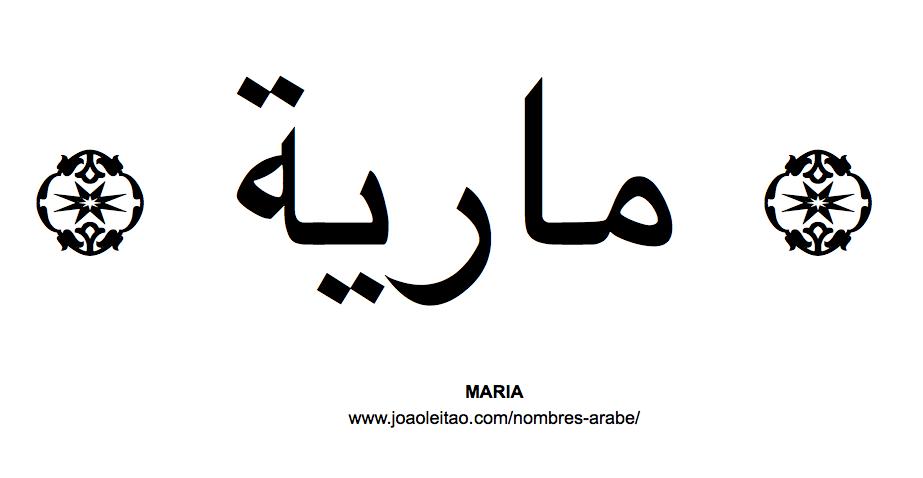 Maria Nombre Arabe de Mujer