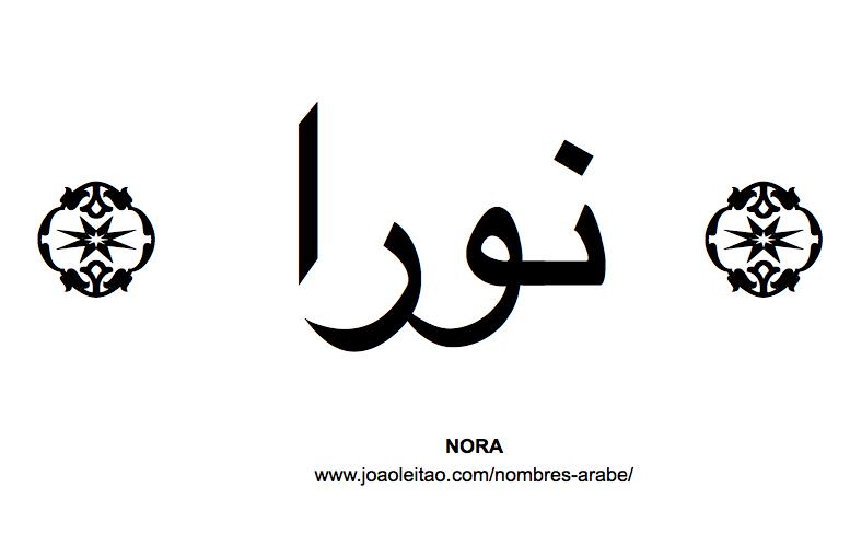 Nora Nombre Arabe de Mujer