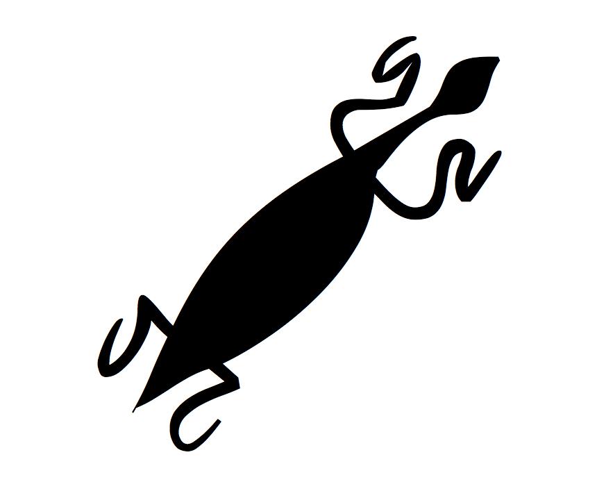 Desenho de Lagartos para Tatuagem