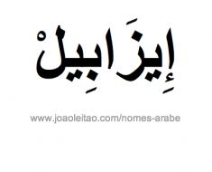 isabel-nome-arabe