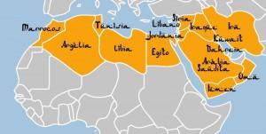 Mapa Mundo Arabe