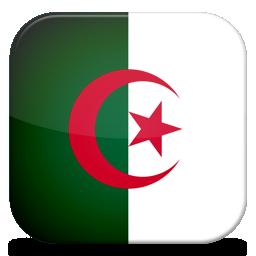 bandeira da argelia