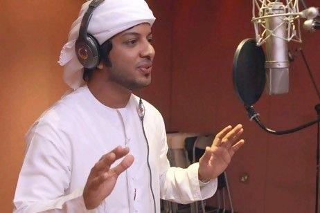 Cantante Arabe, Hombre de los Emiratos - Munther al Jennibi