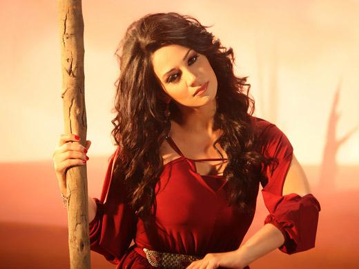 Cantora e Modelo Arabe, Mulher do Libano - Diana Haddad