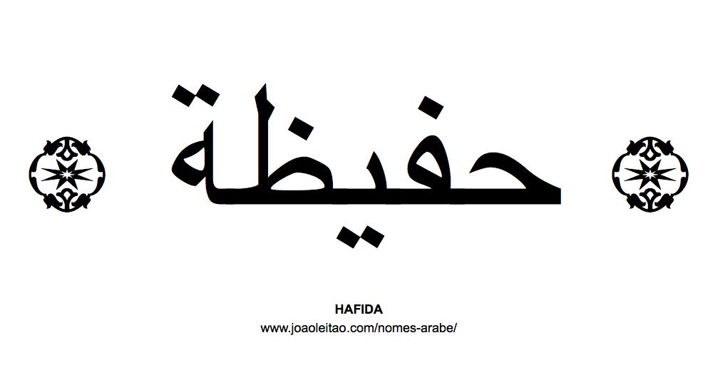 Hafida Nome Arabe Feminino