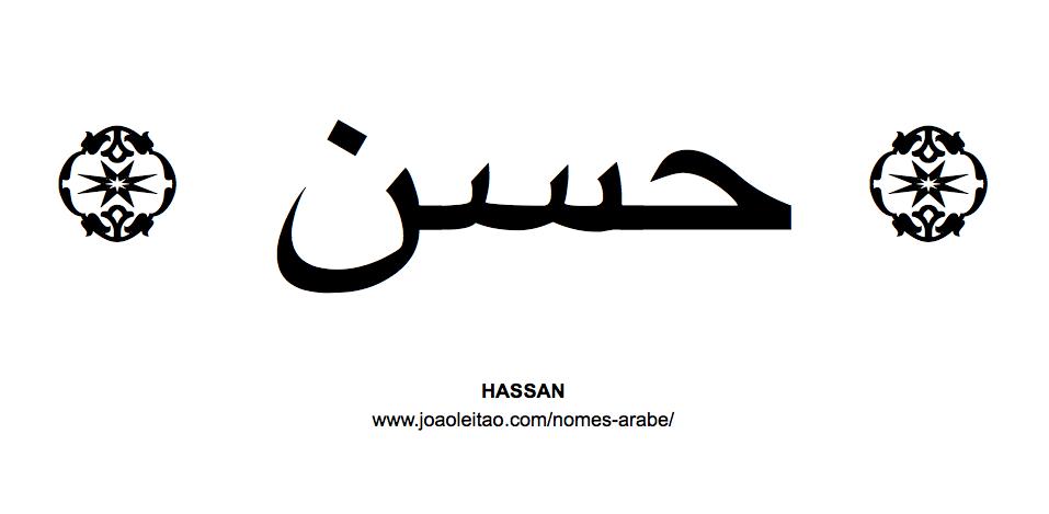 Hassan Nome Arabe Masculino
