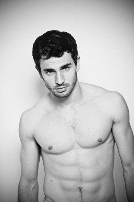 Modelo Arabe, Hombre de Palestina - Udi Karni