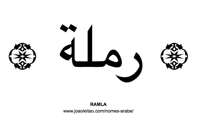 Ramla Nome Arabe Feminino