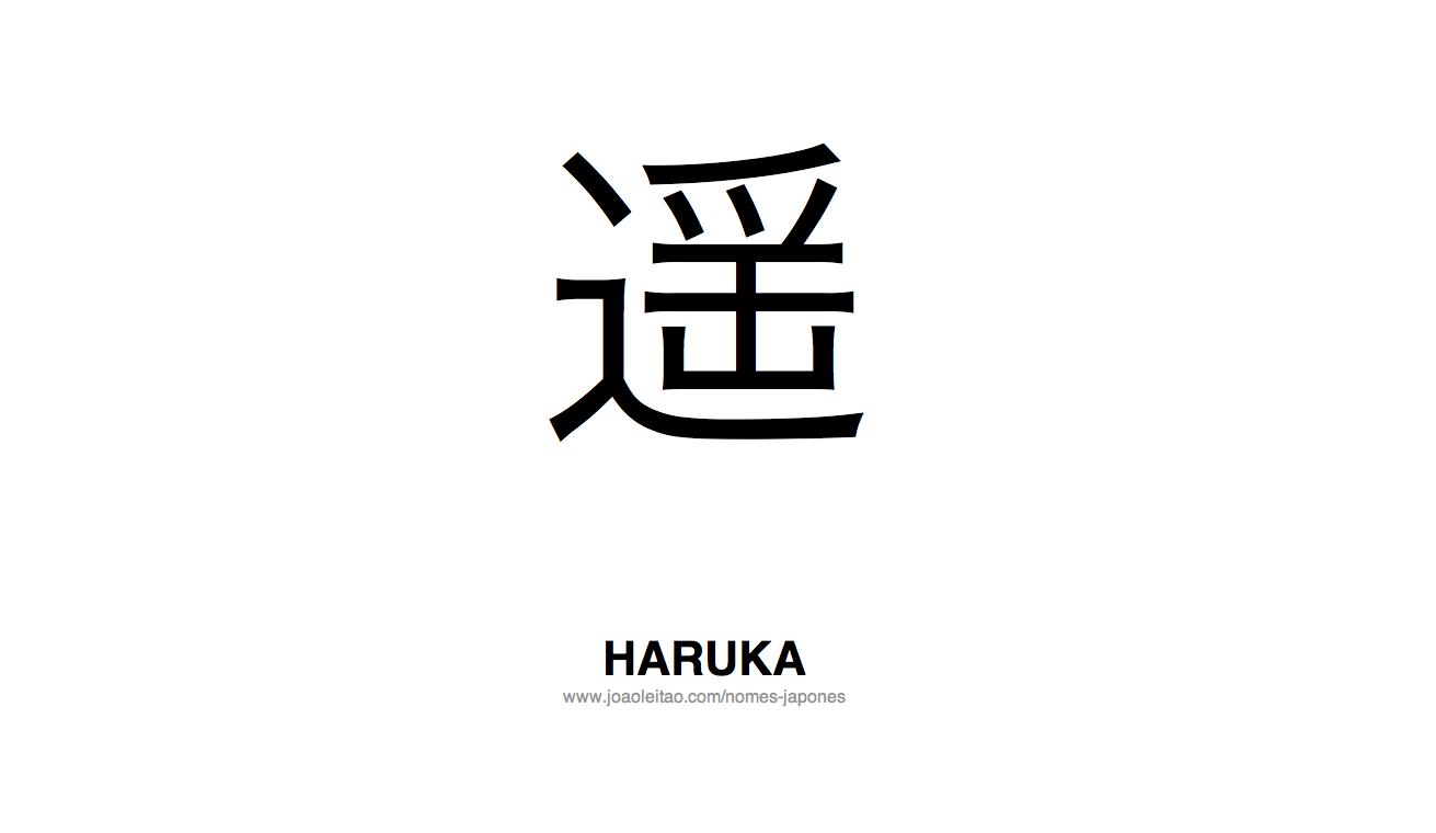 Haruka Nome Japones Feminino