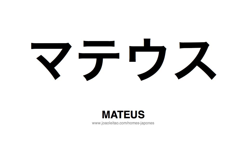 Significado de matheus