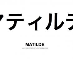 matilde-nome-feminino-japones-tatuagem