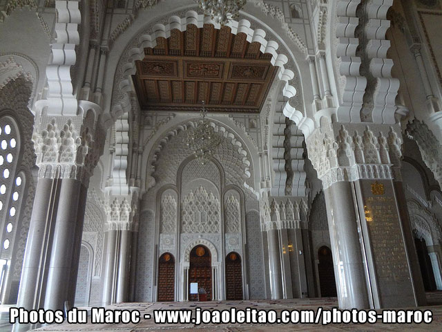 Int rieur de la mosqu e hassan ii casablanca photos du for Mosquee hassan 2 interieur