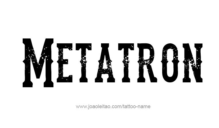 metatron angel name tattoo designs. Black Bedroom Furniture Sets. Home Design Ideas