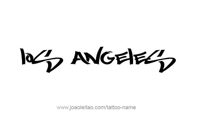 pin angeles los cursive letters tattoos tattoo designs on pinterest. Black Bedroom Furniture Sets. Home Design Ideas