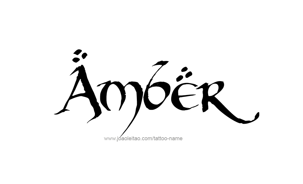 Tattoo design colors names amber 24 png