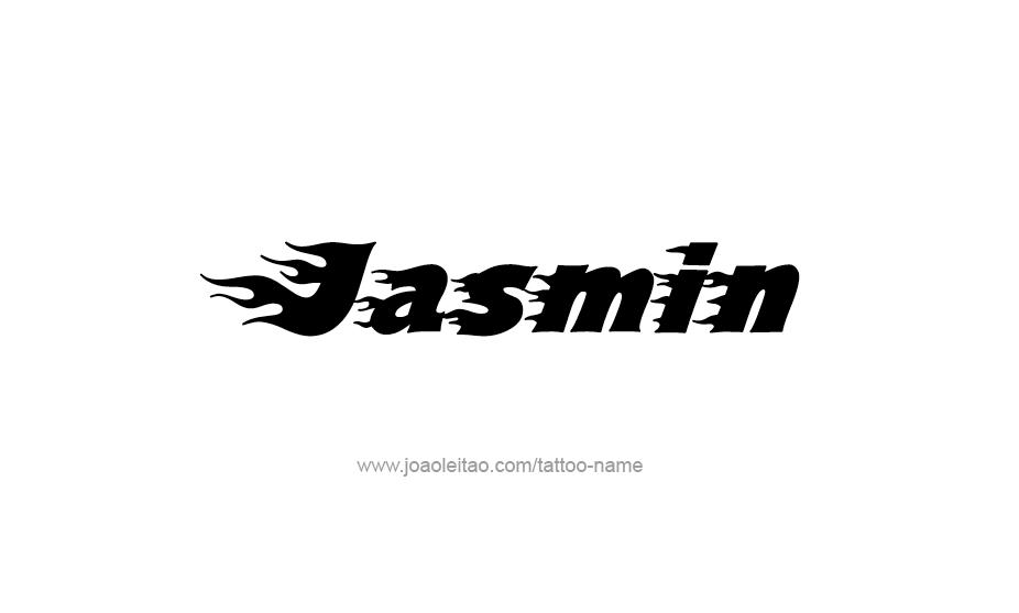 jasmin name tattoo designs. Black Bedroom Furniture Sets. Home Design Ideas