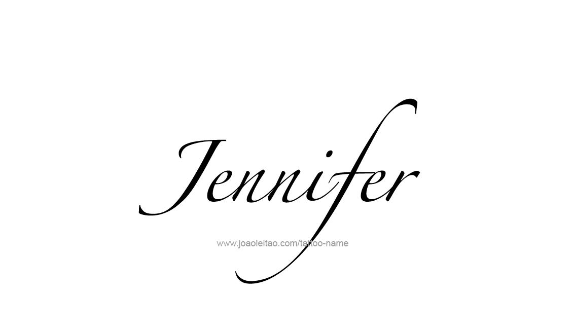 jennifer name designs pictures to pin on pinterest thepinsta. Black Bedroom Furniture Sets. Home Design Ideas