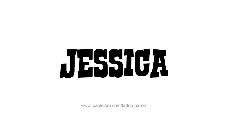 Jessica Name Tattoos Designs