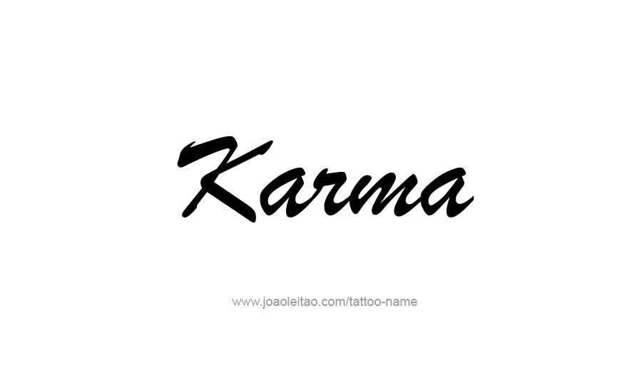 Design For Tatoos Buy Tattoo Ideas For Karma