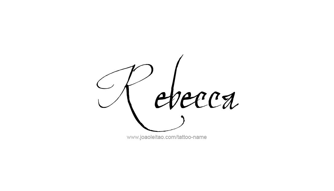 Becca Name Designs