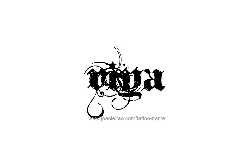 danna name tattoo designs