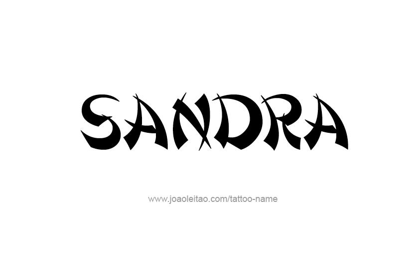 Sandra - Free animation (animated gif)
