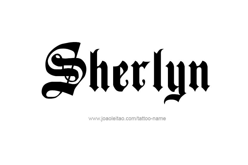 sherlyn name. tattoo design name sherlyn nomad revelations