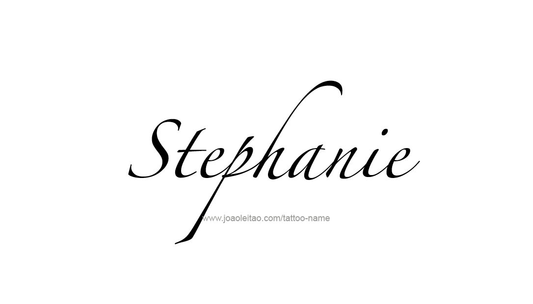 Stephanie Name Tattoo