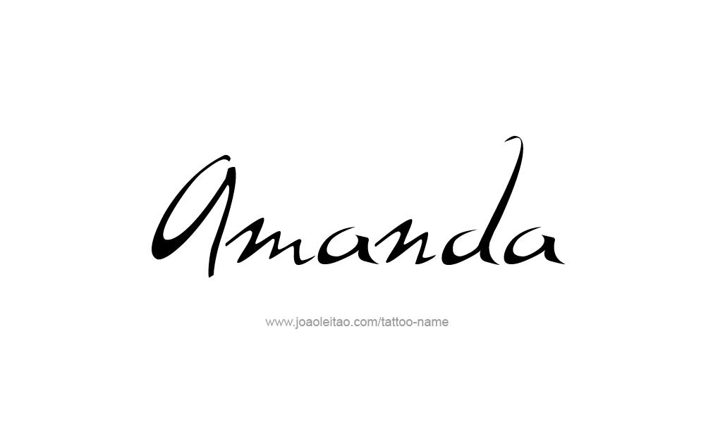 amanda the name wallpaper - photo #31