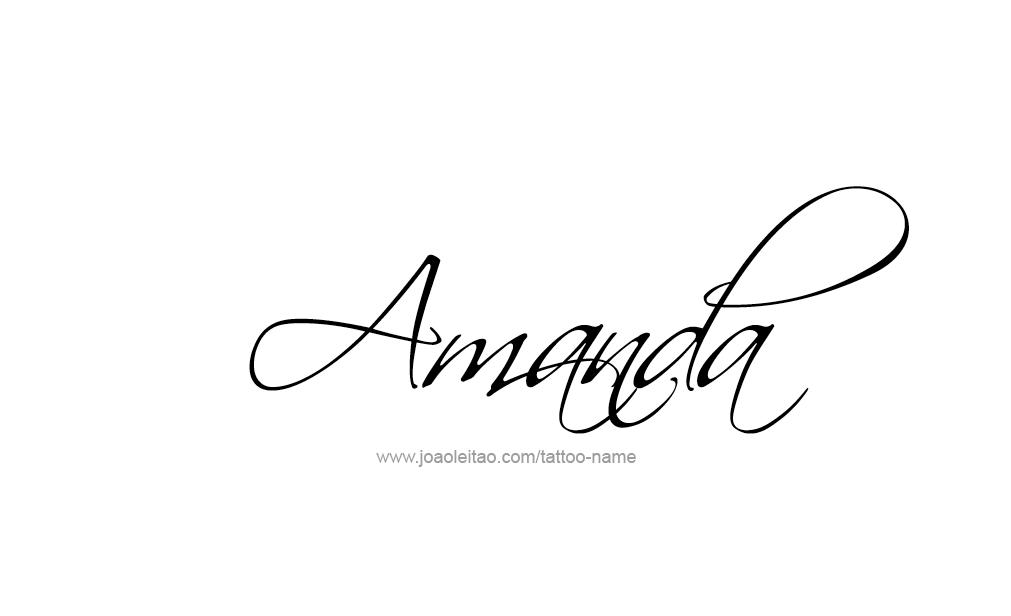 amanda the name wallpaper - photo #5